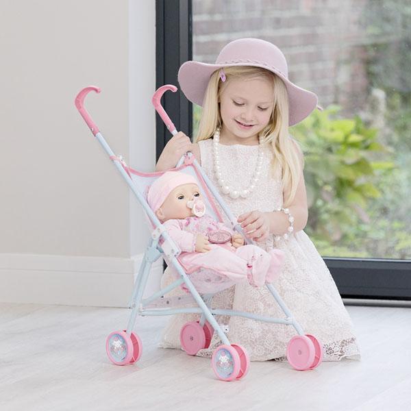 Zapf Creation Baby Annabell 1423520 Бэби Аннабель Коляска-трость, 2017