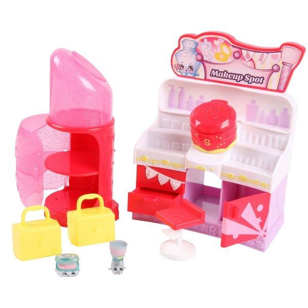 Shopkins 56033 Шопкинс Эксклюзивный набор Место для макияжа игровые наборы shopkins игровой набор веселая кухня