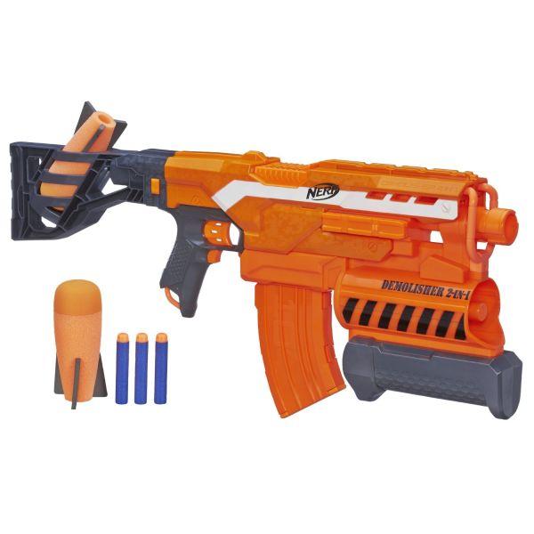 Hasbro Nerf A8494 Нерф Бластер Элит Разрушитель игрушечное оружие nerf hasbro бластер элит разрушитель