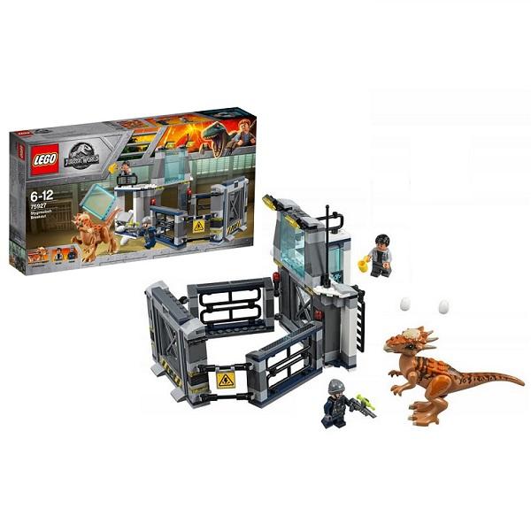 LEGO Jurassic World 75927 Конструктор ЛЕГО Мир Юрского Периода Побег стигимолоха из лаборатории конструктор lego jurassic world побег стигимолоха из лаборатории 222 элемента 75927
