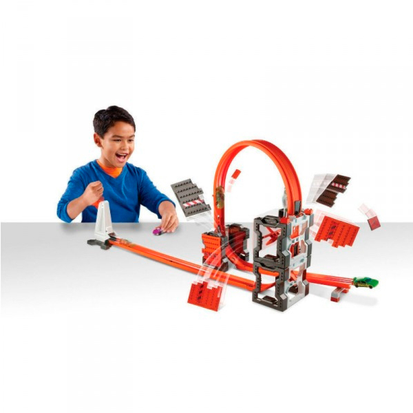 Mattel Hot Wheels DWW96 Хот Вилс Конструктор трасс: взрывной набор