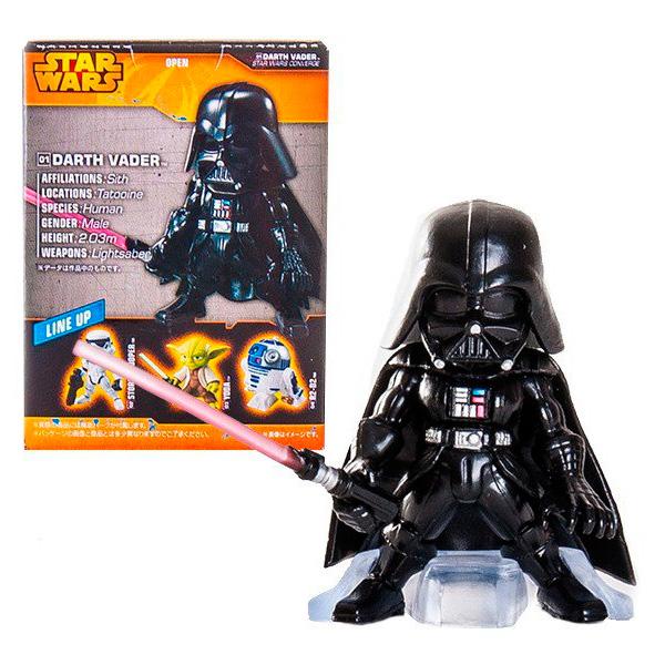 Star Wars Bandai 84626 Звездные Войны Сборная модель Фигурка Дарт Вейдер 5 см