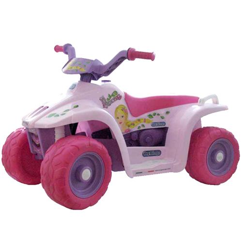 Детский электроквадроцикл Peg-Perego ED1152 QUAD Princess