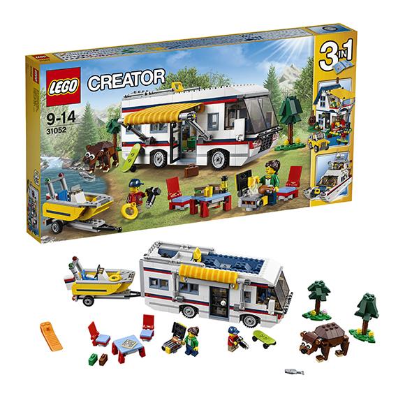 Lego Creator 31052 Лего Криэйтор Кемпинг lego горный внедорожник 70589