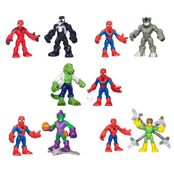Hasbro Playskool Heroes A7109 Фигурка героев Марвел 2-в-1 (в ассортименте) hasbro маски героев