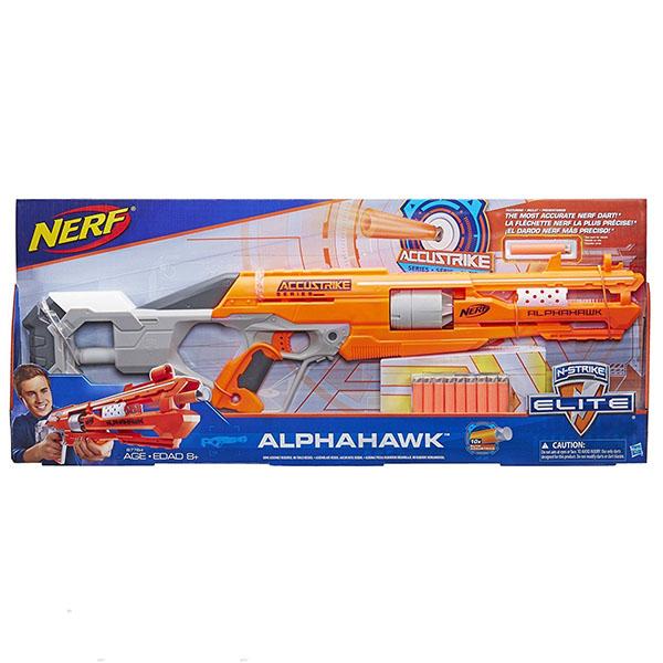 Hasbro Nerf B7784 Нерф Бластер Аккустрайк Альфахок