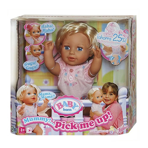 Zapf Creation Baby born 810-491_1 Бэби Борн Кукла Хочу на ручки, 43 см