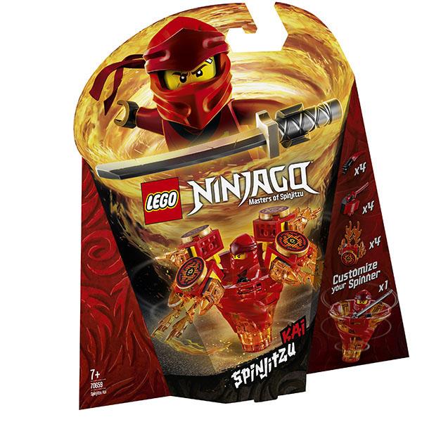 LEGO Ninjago 70659 Конструктор Лего Ниндзяго Кай - мастер Кружитцу