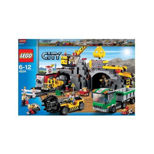 Конструктор Lego City 4204 Лего Город Шахта