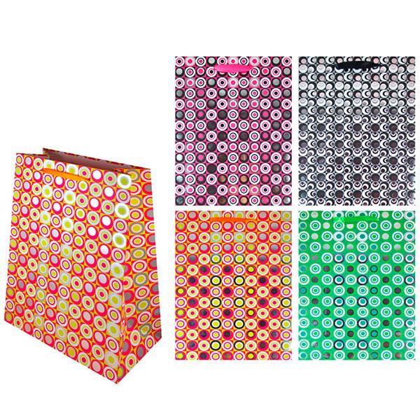 Пакет подарочный бумажный СПЕКТР, 4 цвета TZ9452 (29*21*10 см) (в ассортименте) пакет подарочный бумажный school tz9476 29 21 10 см 4 дизайна в ассортименте