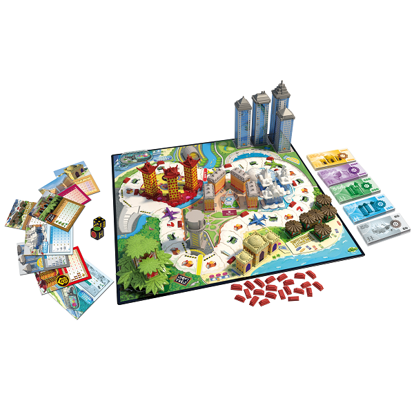 Ooba NPD2050 Настольная игра Hotel Тycoon Отель Тайкун