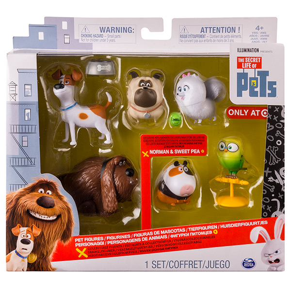 Тайная жизнь домашних животных игрушки в пакетиках