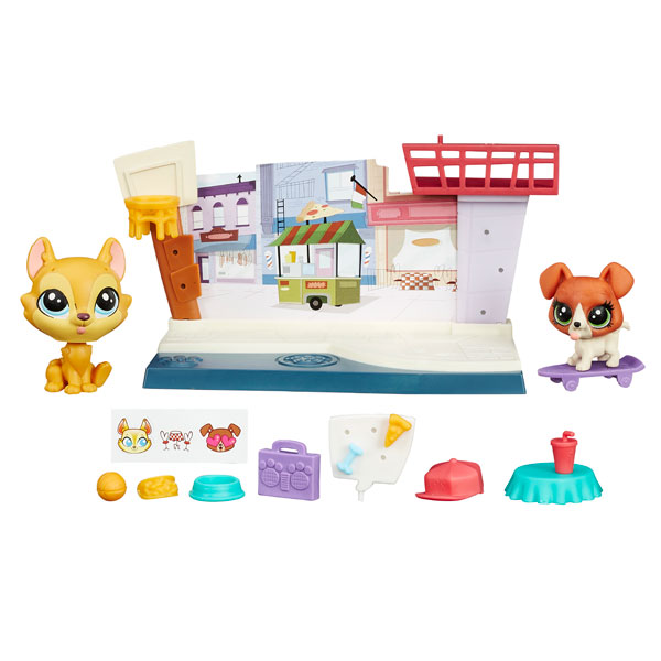 цена Hasbro Littlest Pet Shop B4482 Литлс Пет Шоп Рассказы о зверюшках (в ассортименте)