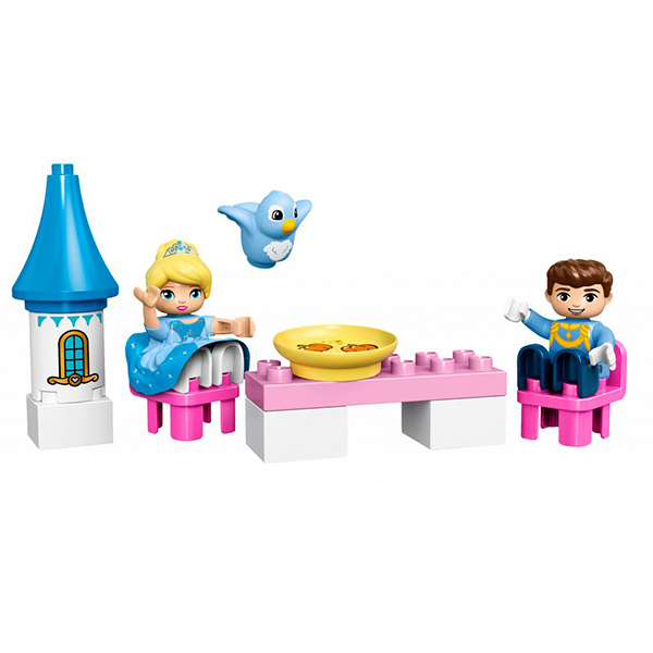 Lego Duplo 10855 Конструктор Лего Дупло Волшебный замок Золушки
