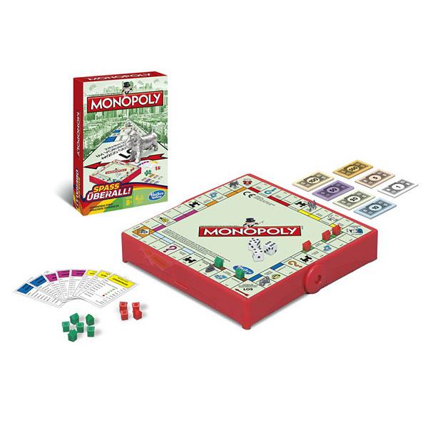 Hasbro Monopoly B1002 Настольная игра Монополия - Дорожная версия