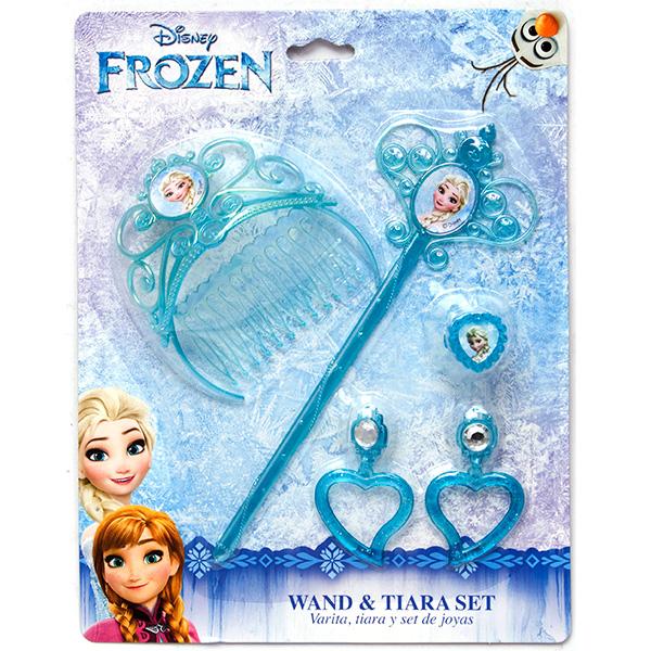 Принцессы 82582 Набор украшений Холодное сердце с волшебной палочкой корона принцессы boley холодное сердце 82542