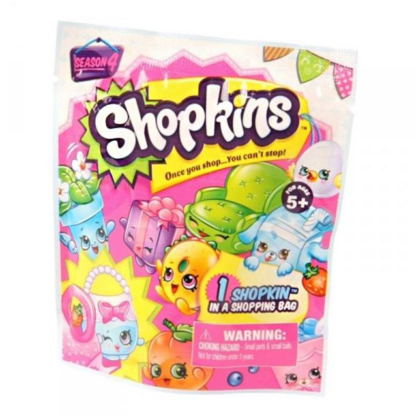 Shopkins 56118 Шопкинс Фольгированный пакетик с 1 героем