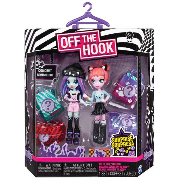 """Off the Hook 6045574-KN Набор кукол """"Стильные лучшие подружки"""" (Концерт)"""