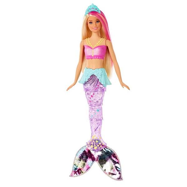 Mattel Barbie GFL82 Барби Сверкающая русалочка