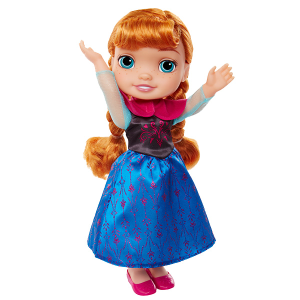 Disney Princess 989200 Принцессы Дисней Кукла Холодное Сердце Малышка Анна, 35 см