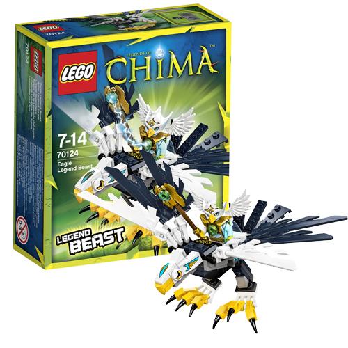 Лего Legends of Chima 70124 Конструктор Легендарные Звери: Орел