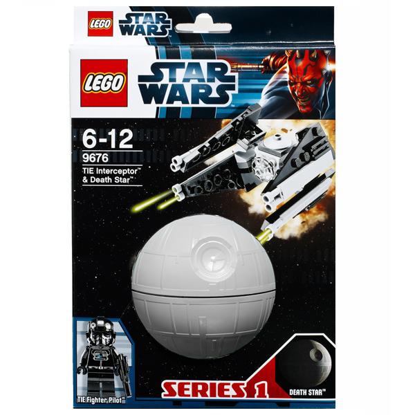 Lego Star Wars 9676 Конструктор Лего Звездные войны Перехватчик TIE и Звезда Смерти