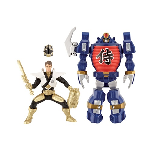 Power Rangers Samurai 31765 Пауэр Рейнджерс Самурай Набор Зорда с Самураем 10 см