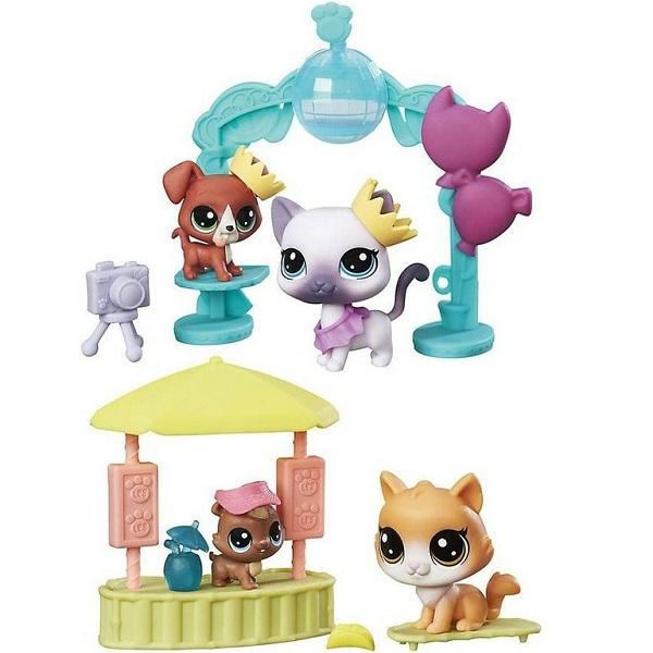 Hasbro Littlest Pet Shop B9347 Игровой набор Чудесные приключения hasbro littlest pet shop b6625 литлс пет шоп набор зверюшек малышей