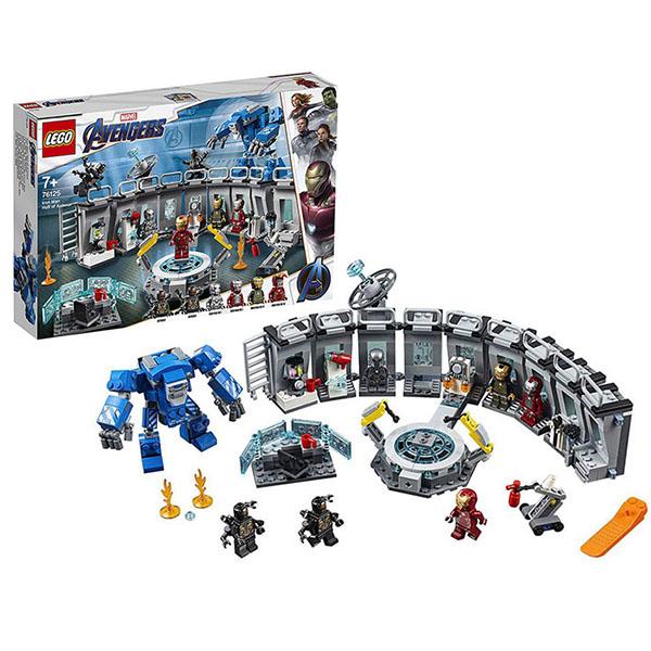 Lego Super Heroes 76125 Супер Герои Лаборатория Железного человека цены
