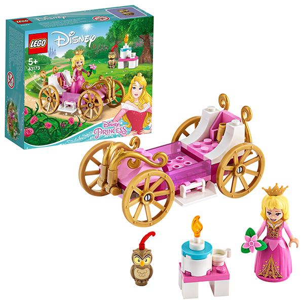 LEGO Disney Princess 43173 Конструктор ЛЕГО Принцессы Дисней Королевская карета Авроры детское лего sluban airbus lego b0366