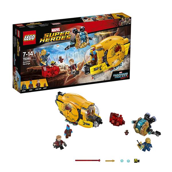 Lego Super Heroes 76080 Лего Супер Герои Месть Аиши конструктор lego marvel super heroes реактивный самолёт мстителей 76049