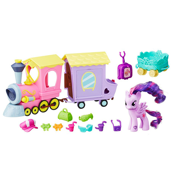 Hasbro My Little Pony B5363_9 Май Литл Пони Поезд дружбы