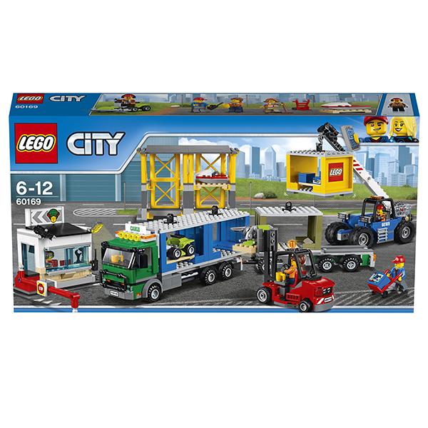 Lego City 60169 Конструктор Лего Город Грузовой терминал