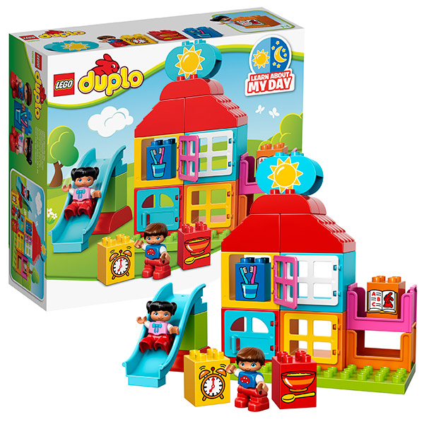 Lego Duplo 10616 Лего Дупло Мой первый игровой домик lego duplo 10508 лего дупло большой поезд