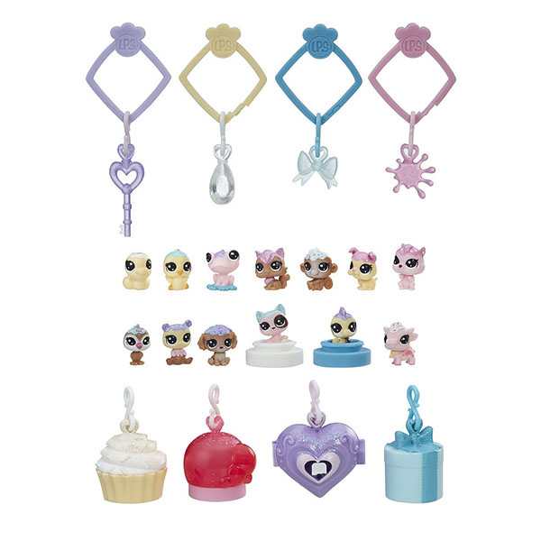 Hasbro Littlest Pet Shop E0400 Литлс Пет Шоп Набор игрушек 13 Зефирных Петов a080877 noritsu qss3301 minilab roller substitute made of rubber