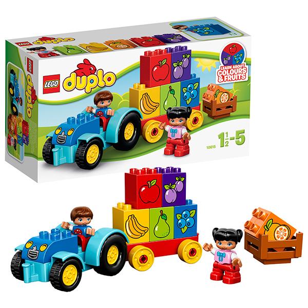 Lego Duplo 10615 Лего Дупло Мой первый трактор lego мой первый трактор 10615