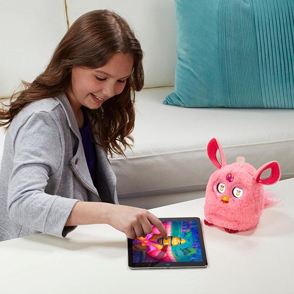 Hasbro Furby B6083/B6086 Ферби Коннект ярко-розовый