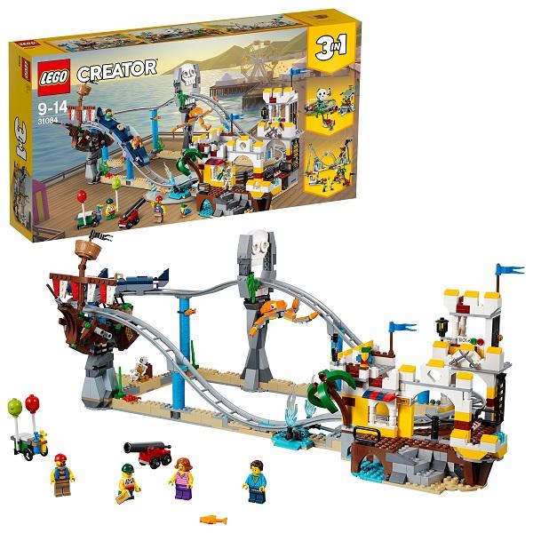 Lego Creator 31084 Конструктор Лего Криэйтор Аттракцион Пиратские горки конструктор lego creator путешествие по воздуху 31047