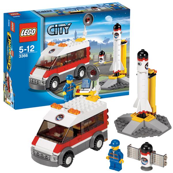 LEGO City 3366 Конструктор ЛЕГО Город Пусковая платформа