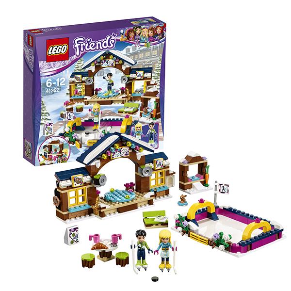 Lego Friends 41322 Конструктор Лего Подружки Горнолыжный курорт: каток