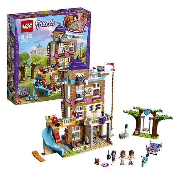 Lego Friends 41340 Конструктор Лего Подружки Дом дружбы lego конструктор lego friends 41340 дом дружбы