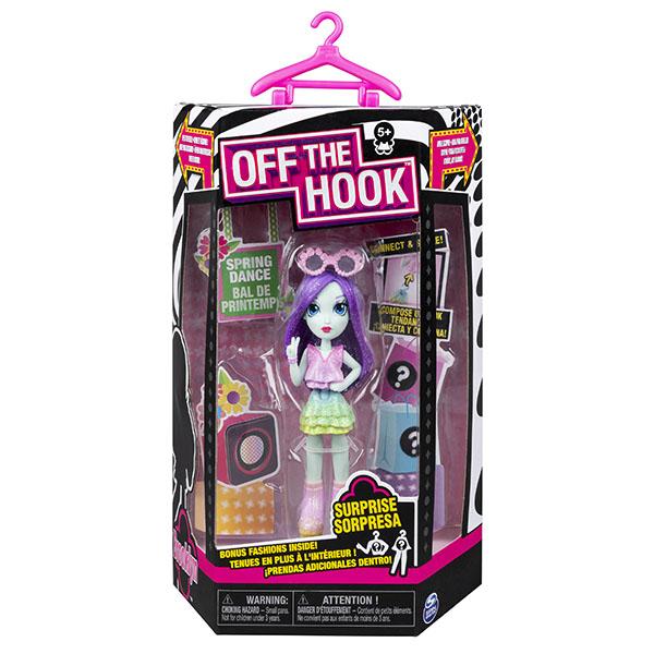 Off the Hook 6045583-BR Стильная кукла с аксессуарами Бруклин весенний танец