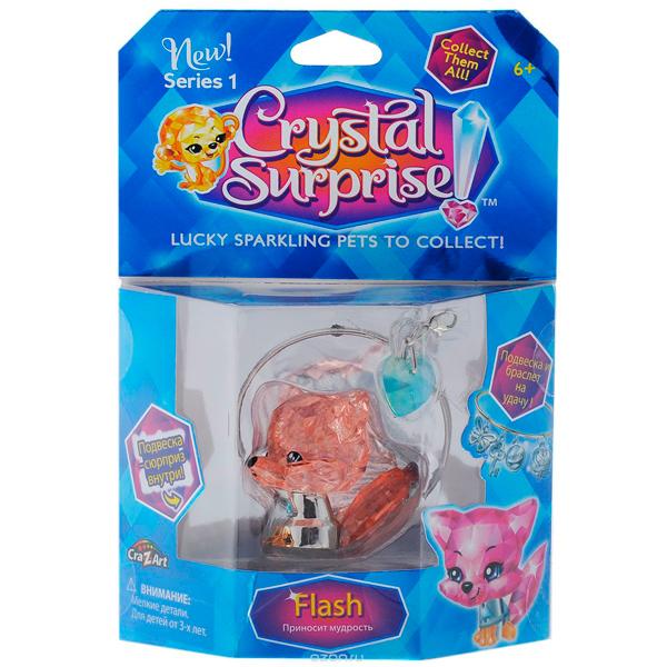 Crystal Surprise 45708 Кристал Сюрприз Фигурка Лисенок + браслет и подвески
