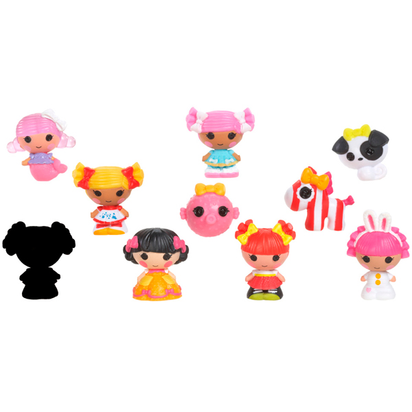 Lalaloopsy Tinies 530428 Лалалупси Малютки уп-ка из 10 шт (в ассортименте) lalaloopsy mini 527084 лалалупси мини в ассортименте