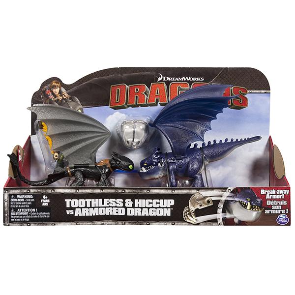 Dragons 66599 Дрэгонс Набор Беззубик и Иккинг против дракона