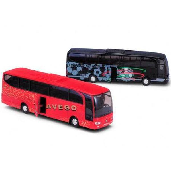 Welly 52590 Велли Модель автобуса Mercedes-Benz (в ассортименте) билет на автобус до анапы из волгограда