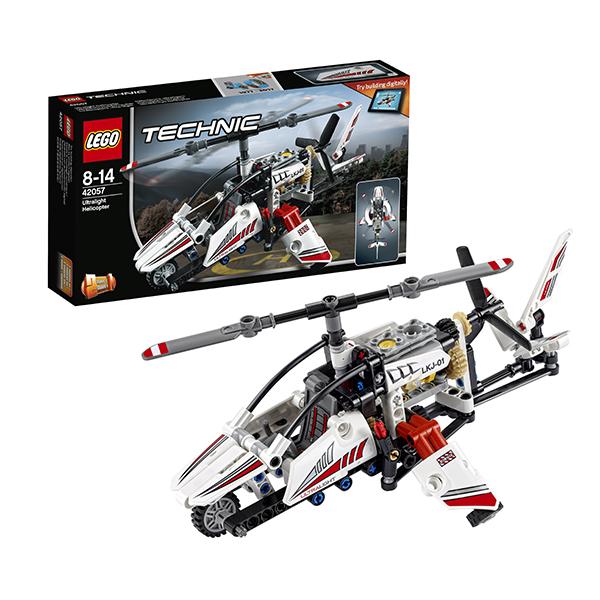 Lego Technic 42057 Конструктор Лего Техник Сверхлёгкий вертолёт lego technic 42054 лего техник claas xerion 5000 trac vc