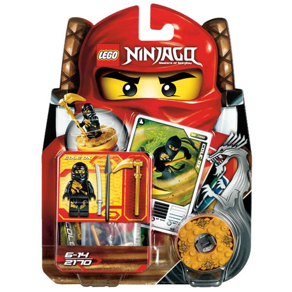 Lego Ninjago 2170 Конструктор Лего Ниндзяго Коул DX