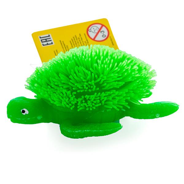 HGL SV11193 Фигурка черепахи с резиновым ворсом с подсветкой (в ассортименте)