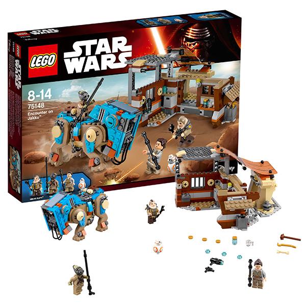 Lego Star Wars Столкновение на Джакку 75148